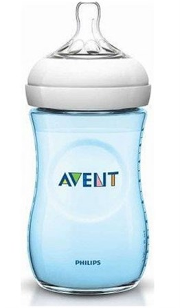 Philips Avent SCF695/17 Natural PP Biberon Tekli 260 ml Mavi